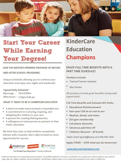 Champions Employment Opportunities